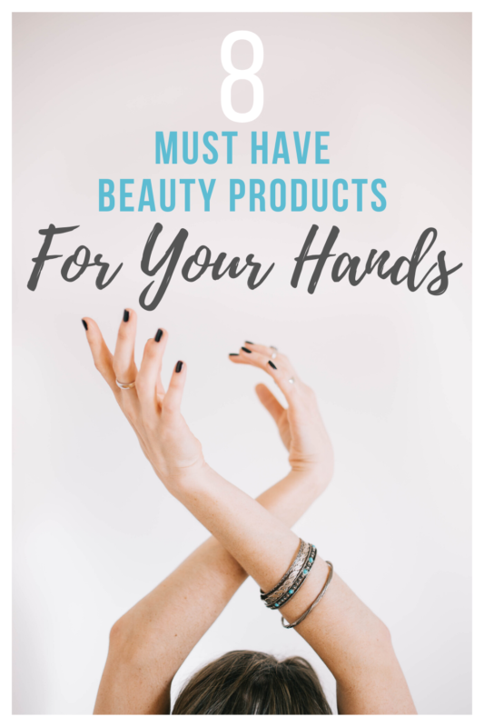8 Must-Have Beauty Products I'm Using to Keep My Hands Baby Soft.  During times of lots of handwashing due to COVID-19, it's so important to take care of your skin to prevent excessive dryness.  These are the products I swear by to keep my hands soft.   Hand care | hand washing | soft hands | hand care tips | beauty products | beauty products for hands