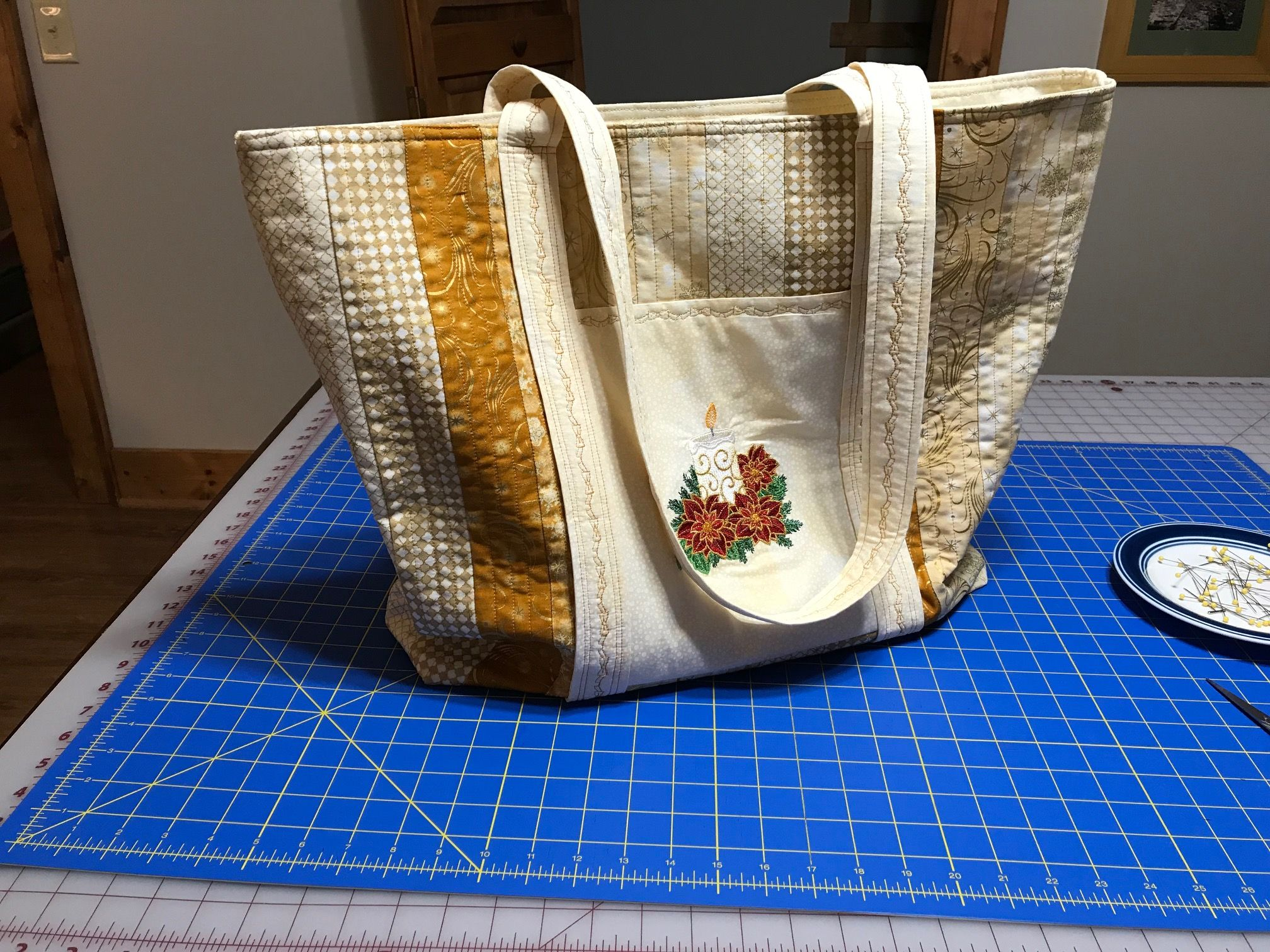 This is a huge bag, but made from a YouTube video from