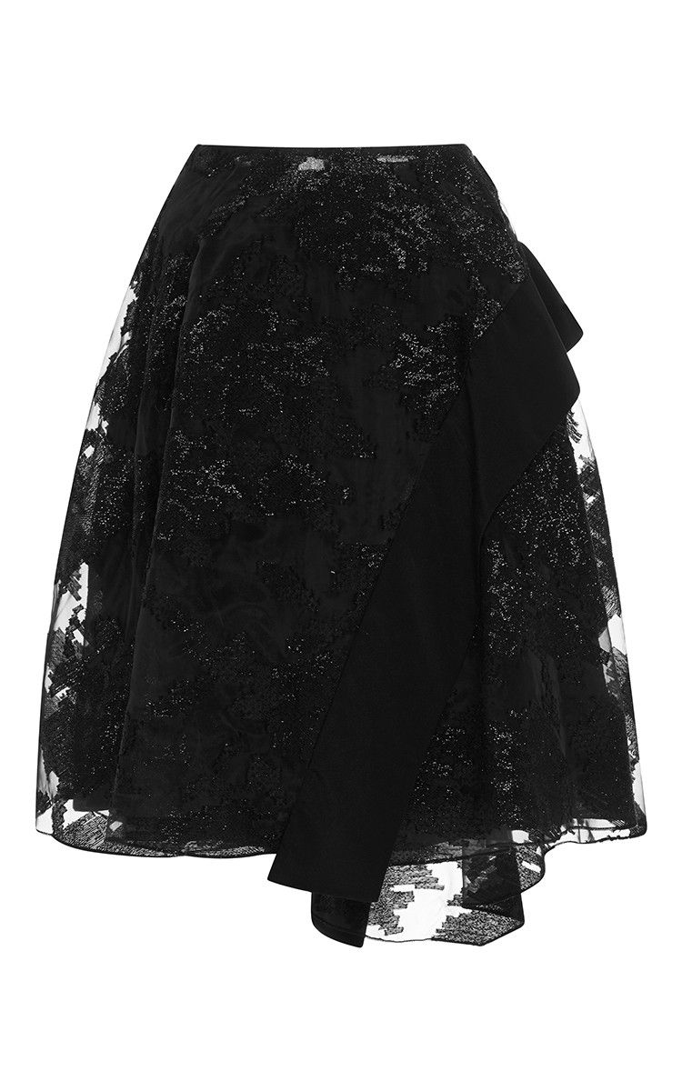 Embroidered Circle Skirt by Prabal Gurung Now Available on Moda Operandi