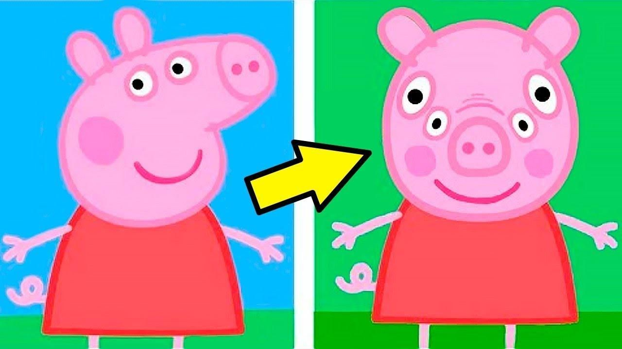 Peppa Pig front view (With images) | Peppa pig funny, Peppa pig ...