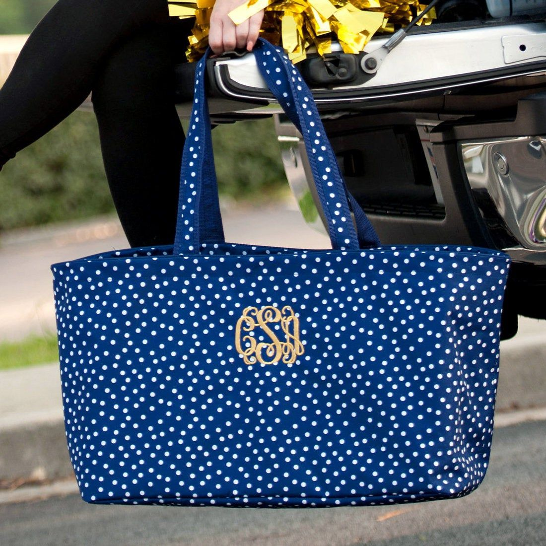 Personalized Tote Bag Ultimate Tote Tailgaiting Monogrammed X-Large Tote Bag Oversized Tote Beach Bag Personalized