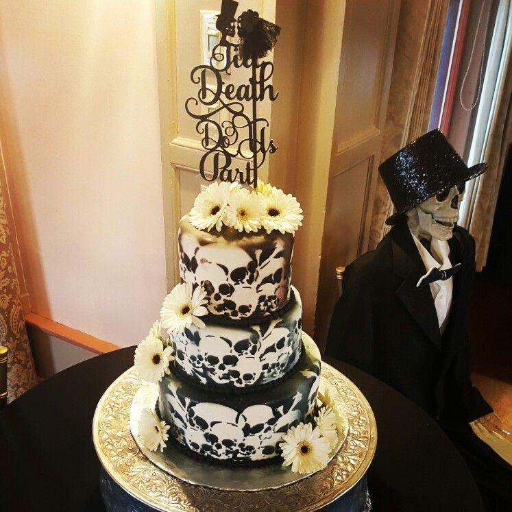 Goth Themed Wedding Cake Facebookcarinaedolce Www
