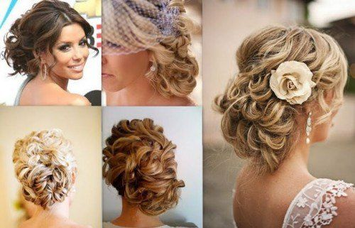 Strange Curly Hairstyles Hairstyles To The Side And Low Side Buns On Short Hairstyles Gunalazisus