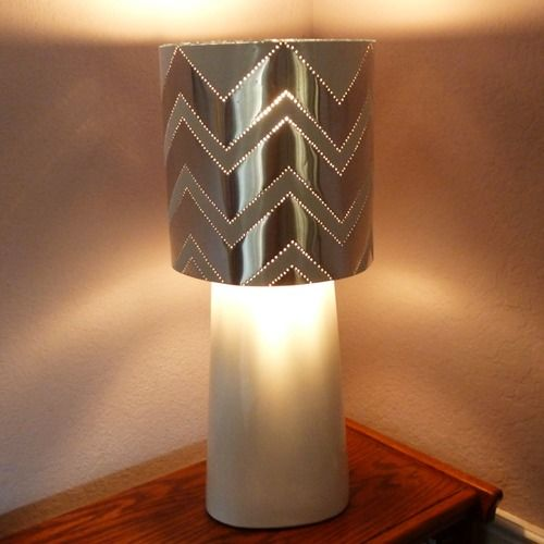 Lampshade Store Near Me Cool Diy Hardware Store Tin Punched Lampshade Tutorial From Dream A Decorating Inspiration