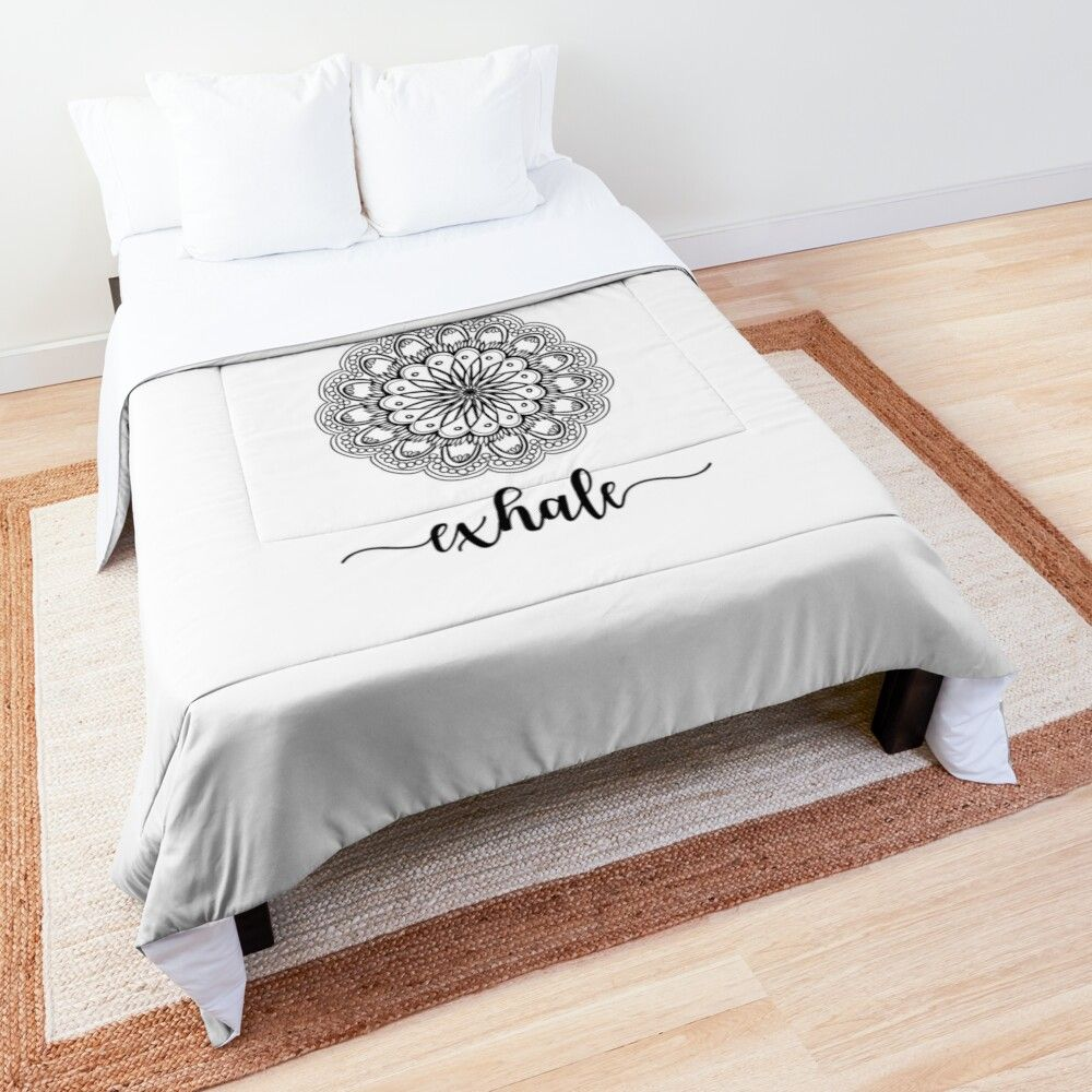 Do you like Yoga? Then you will love this Yoga Comforter.