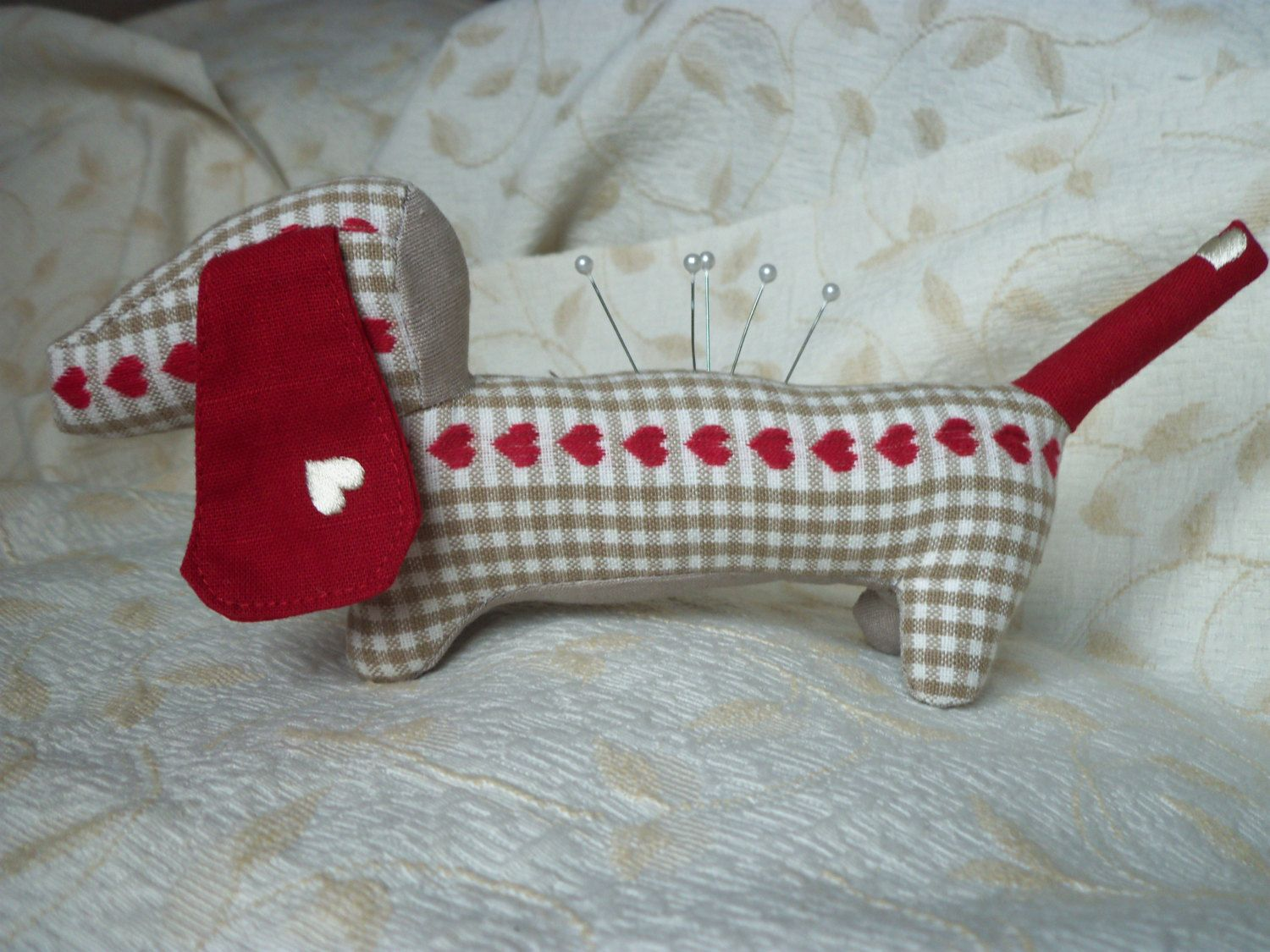 Mothers -Day -Gifts - BIG DOG or Small Dachshund Pincushions ...