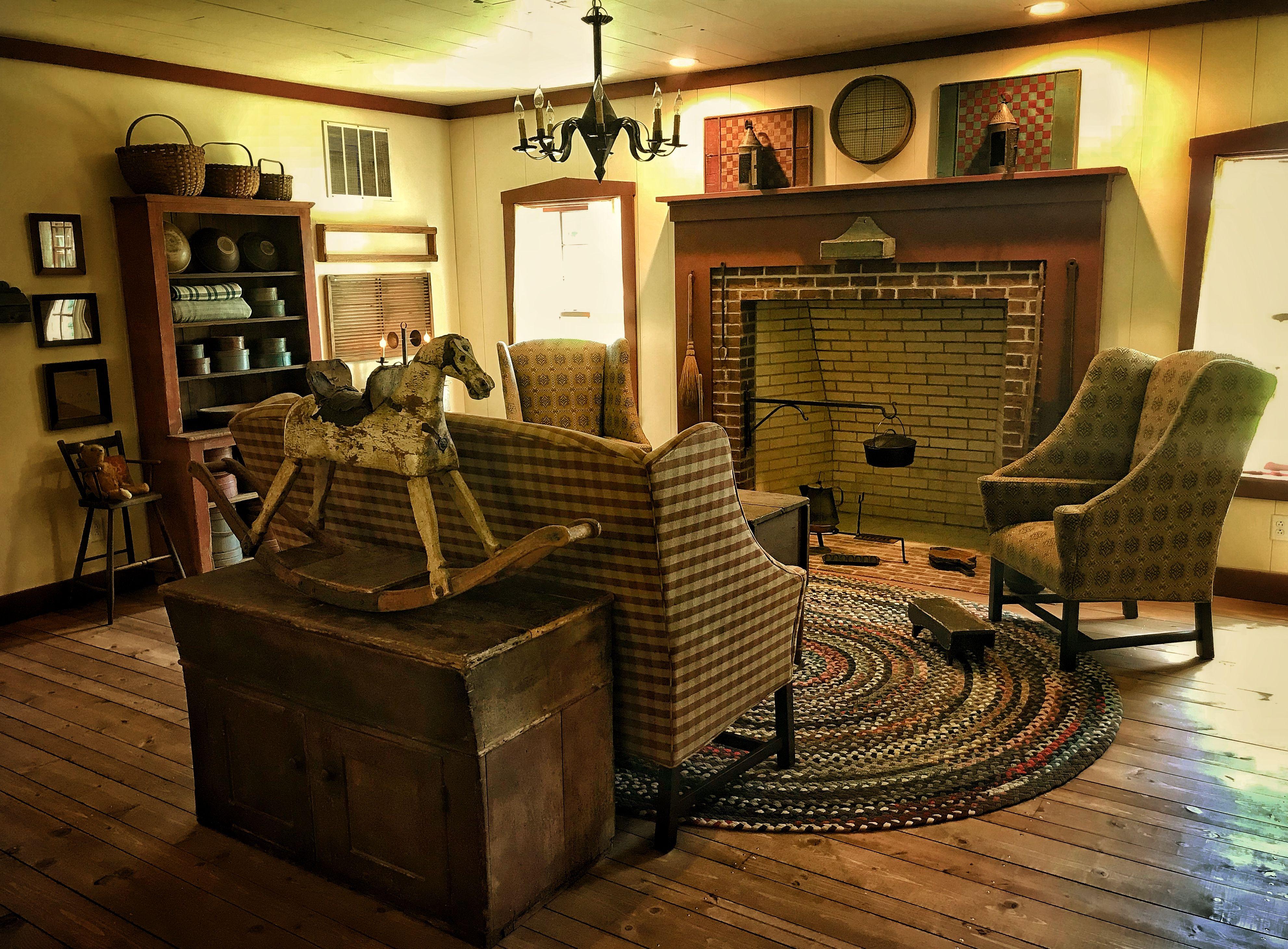 Keeping Room Primitive Living Room Primitive Decorating Country Primitive Homes #primitive #pictures #for #living #room
