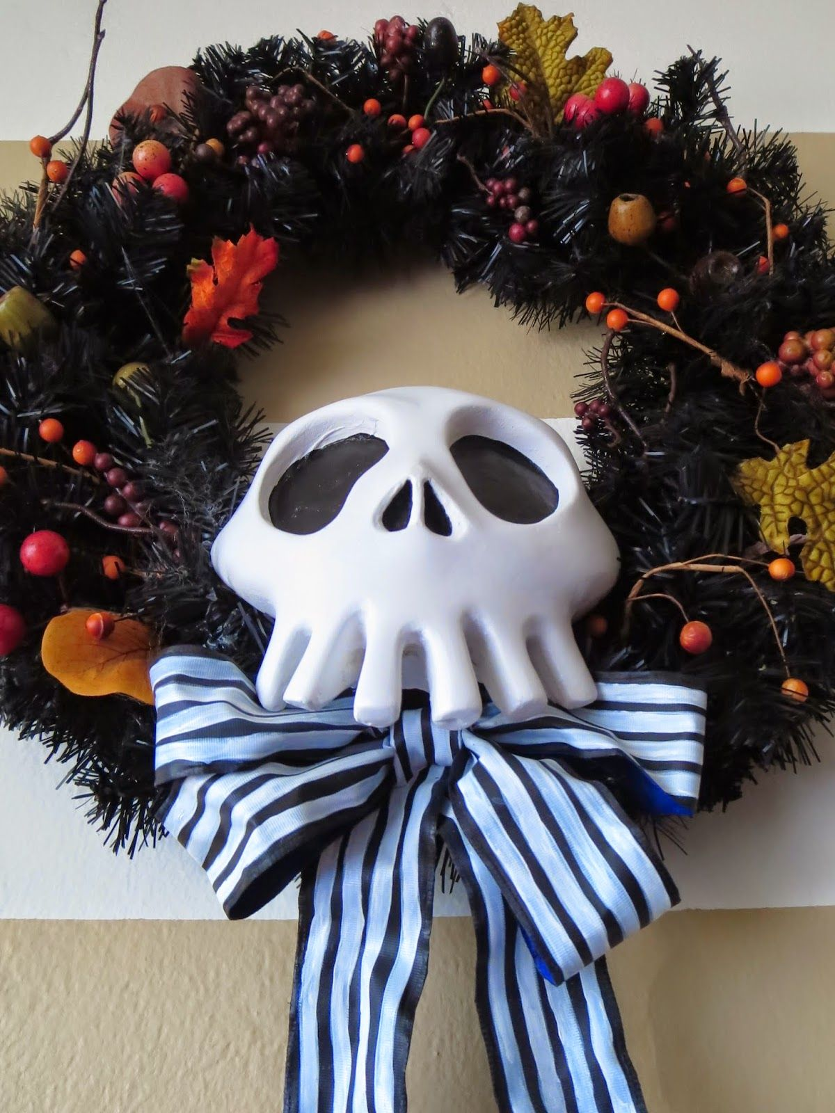 Diy Nightmare Before Christmas Decoration Handmade By Me With