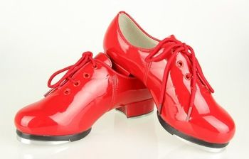 Red Tap Shoes | Tap dancing shoes