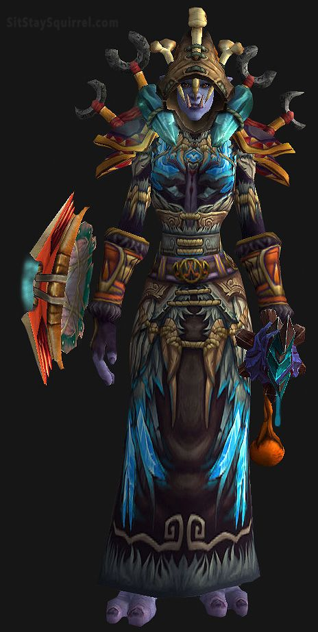 Wow Troll Shaman Set World Of Warcraft Mog Shaman Transmog