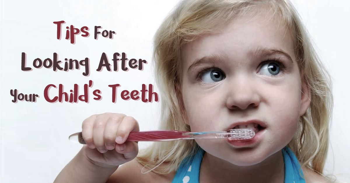 Dental care should begin as shortly as a child's initial