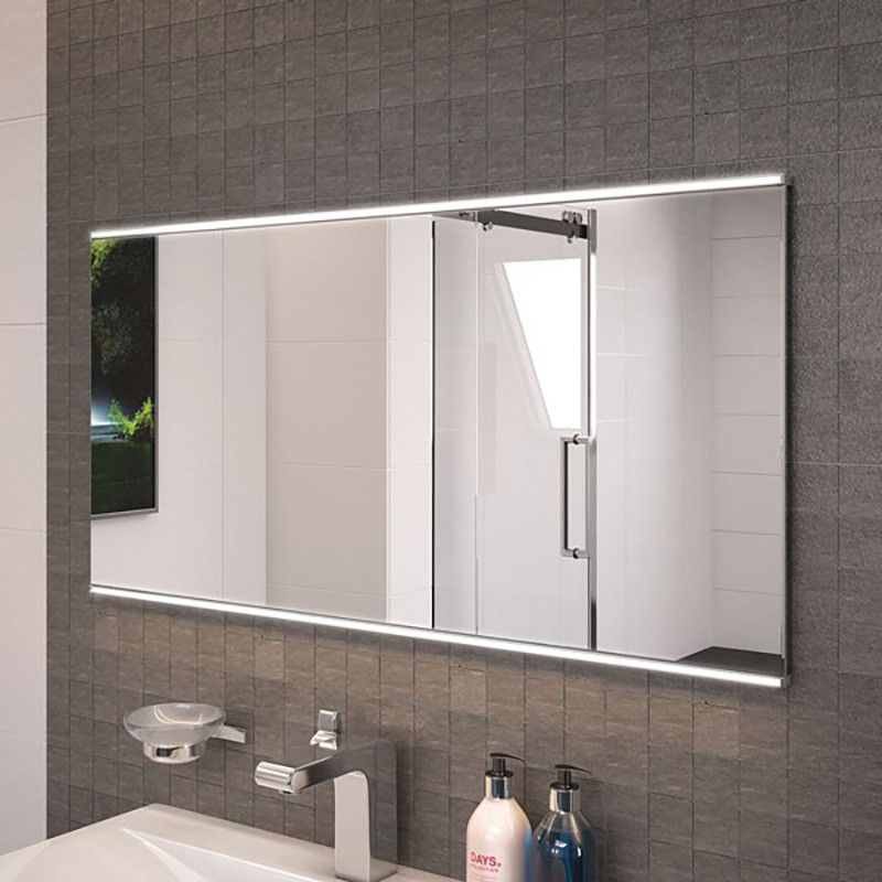 Dream 100cm Illuminated Mirror A Stunning 500 X 1000mm Bathroom Mirror Powered By 15w Led Lights And Amazing Bathrooms Bathroom Mirror Bathroom Mirror Lights