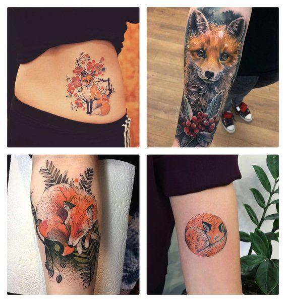 Tatuajes De Zorros Para Hombres Y Mujeres 1 Tattoos Pinterest