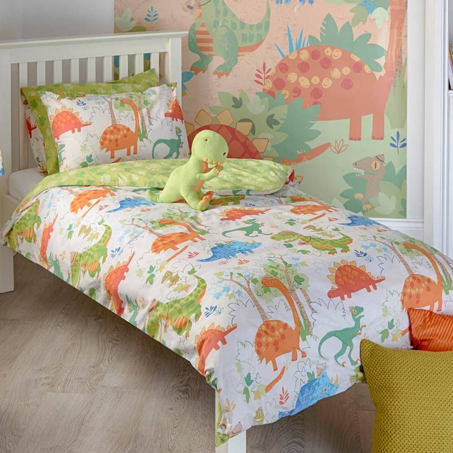 Paoletti Dinosaur Toddler Duvet Cover Set Products In