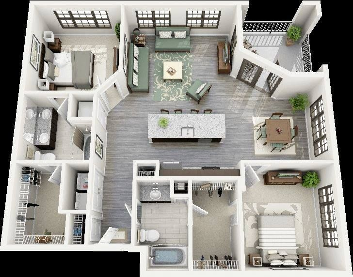 Crescent ninth street two bedroom apartment also best decor nyc loft images on pinterest rh