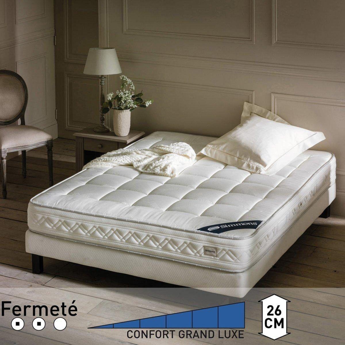 matelas confort prestige ferme 651re blanc simmons bons plans pas cher pinterest how to plan. Black Bedroom Furniture Sets. Home Design Ideas
