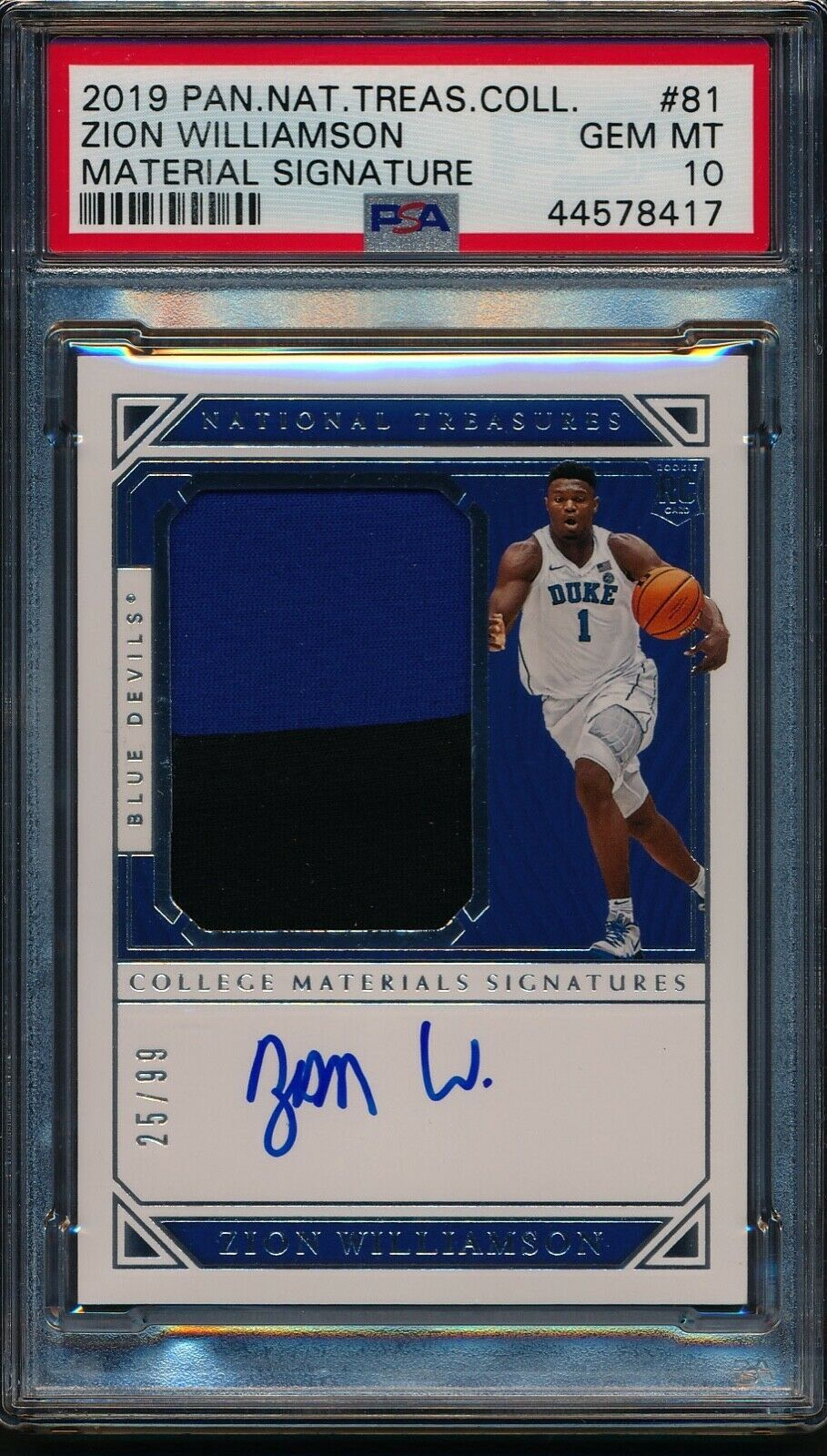ZION WILLIAMSON'S TOP 10 ROOKIE CARDS in 2020 | Cards ...
