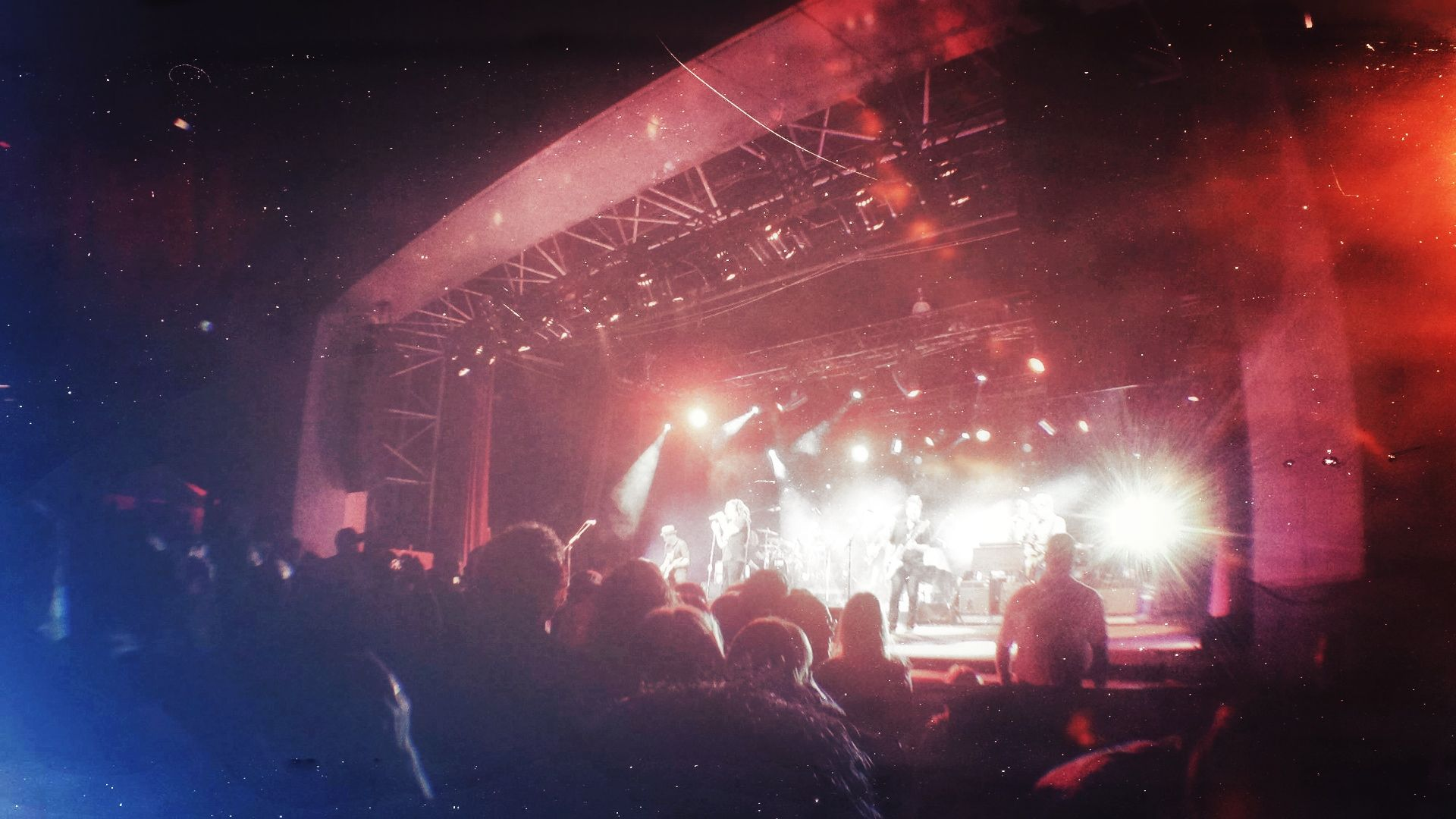 Counting Crows Galaxy Edit By Christopher J Ryan Counting Crows Amphitheater Photo