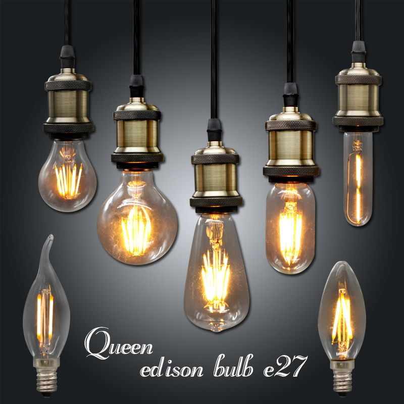 Ampoule Vintage Led Edison Ampoule E27 E14 220 V Led Retro Lampe 2 W 4 W 6 W Diy Led Filament Lumiere Edison Pend Edison Light Bulbs Edison Lighting Retro Lamp