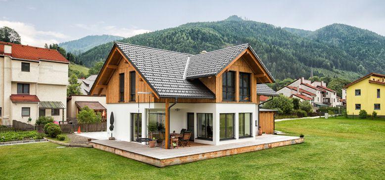 Einfamilienhaus neubau mit garage  einfamilienhaus satteldach garage - Google-Suche | HOUSE ...