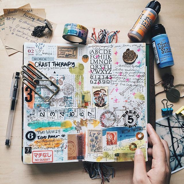 Week 05 Follow Me On Instagram Janethecrazy Travelersnotebook