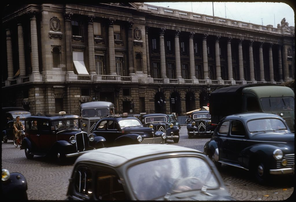 Place de la Concorde, Paris, 1955