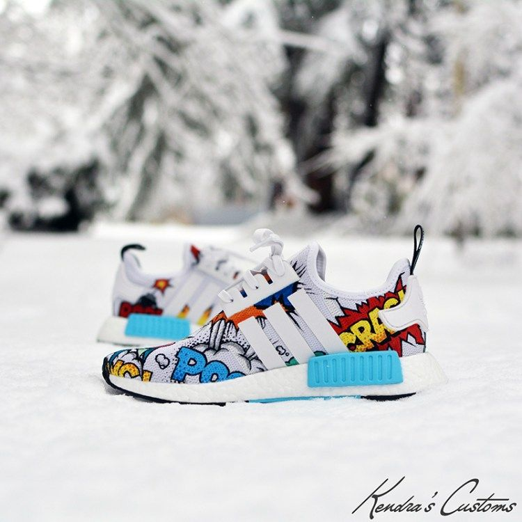 adidas NMD_R1 Pop Art Custom by Kendra's Customs | Chaussure