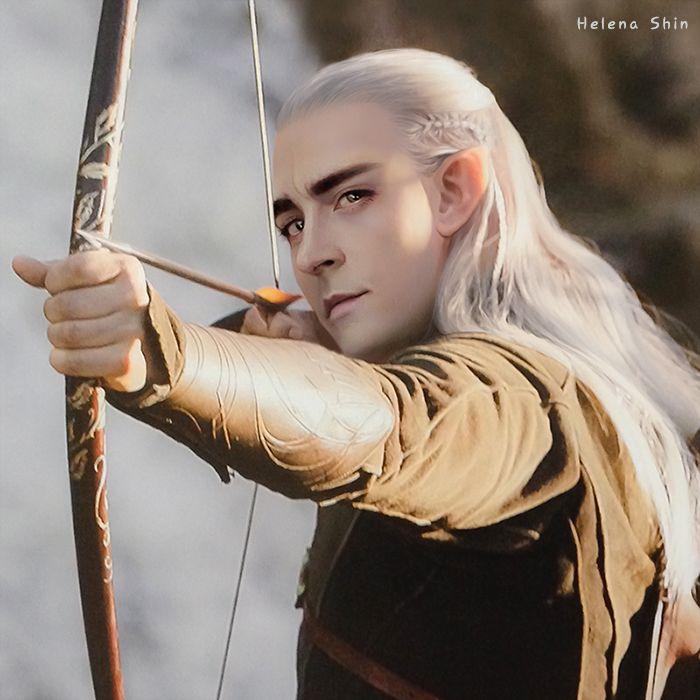 Thranduil as Legolas ??? Legolas as Thranduil ??? A long ...