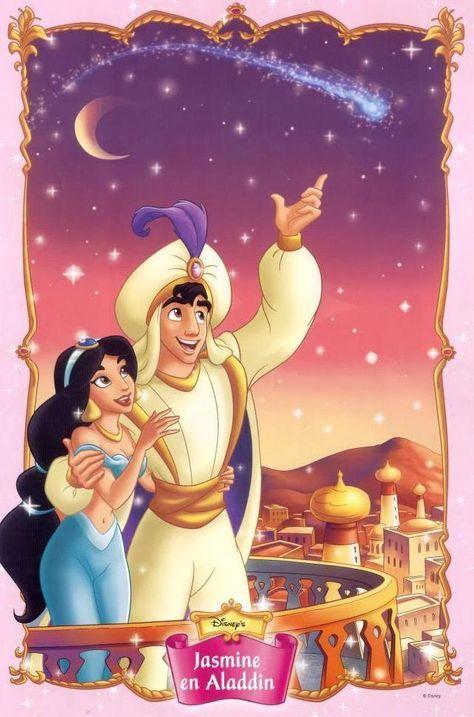 Disney Couples Photo Aladdin And Jasmine Disney Couples Disney Princess Jasmine Aladdin And Jasmine