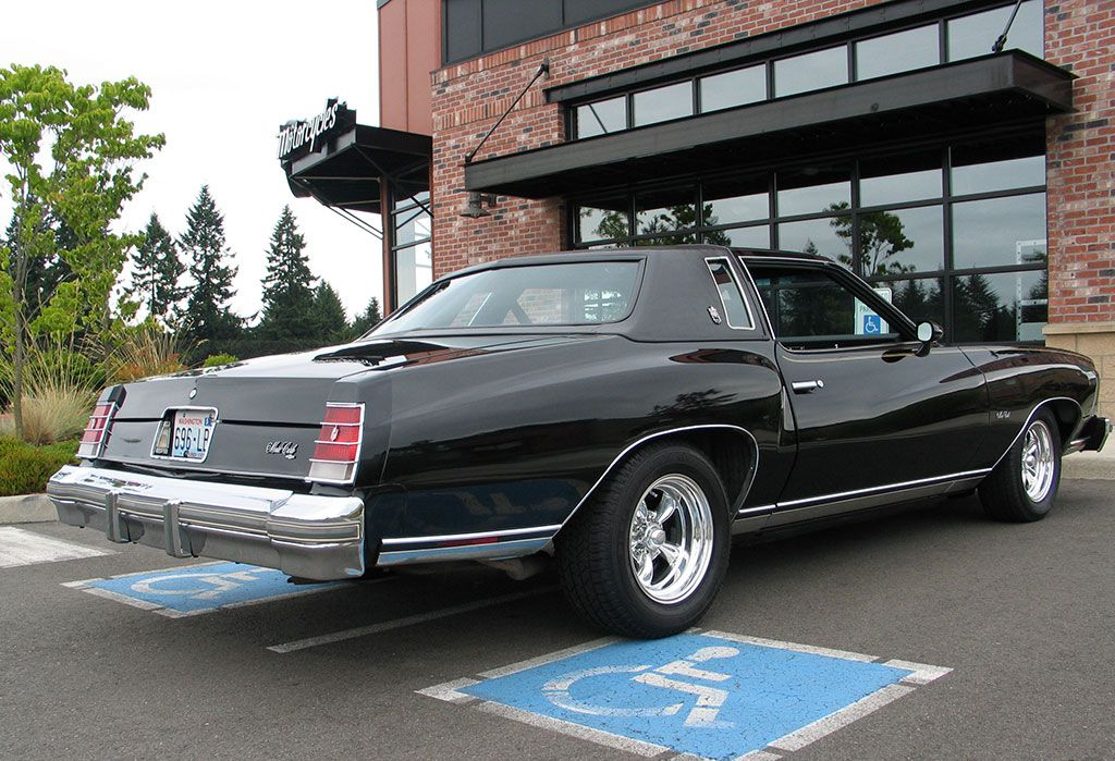 chevrolet monte carlo rear shot classic cars and motorcycles rh pinterest com