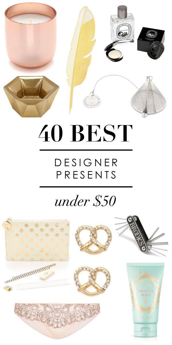 40 Gorgeous Designer Gifts Under 50