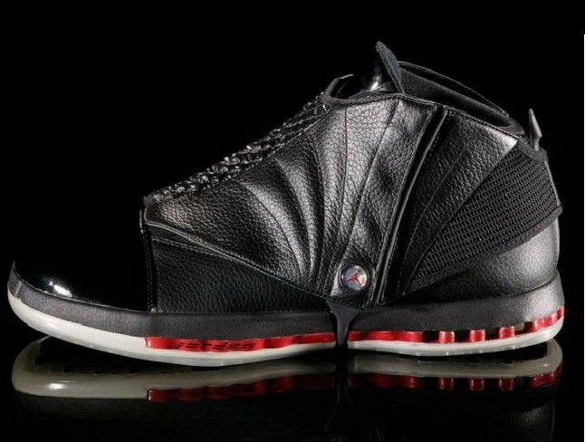320881ab1a2a 323941-992 Air Jordan 16 XVI Retro-Black Varsity Red http