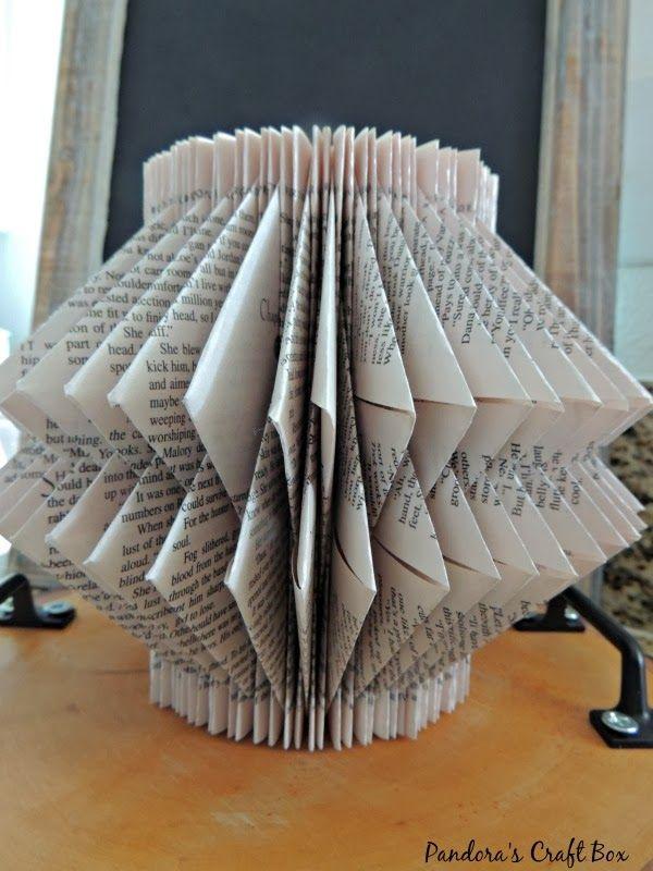 pliure pliure origami pliage livre art tutoriel fleurs en papier pinterest pliage livre. Black Bedroom Furniture Sets. Home Design Ideas