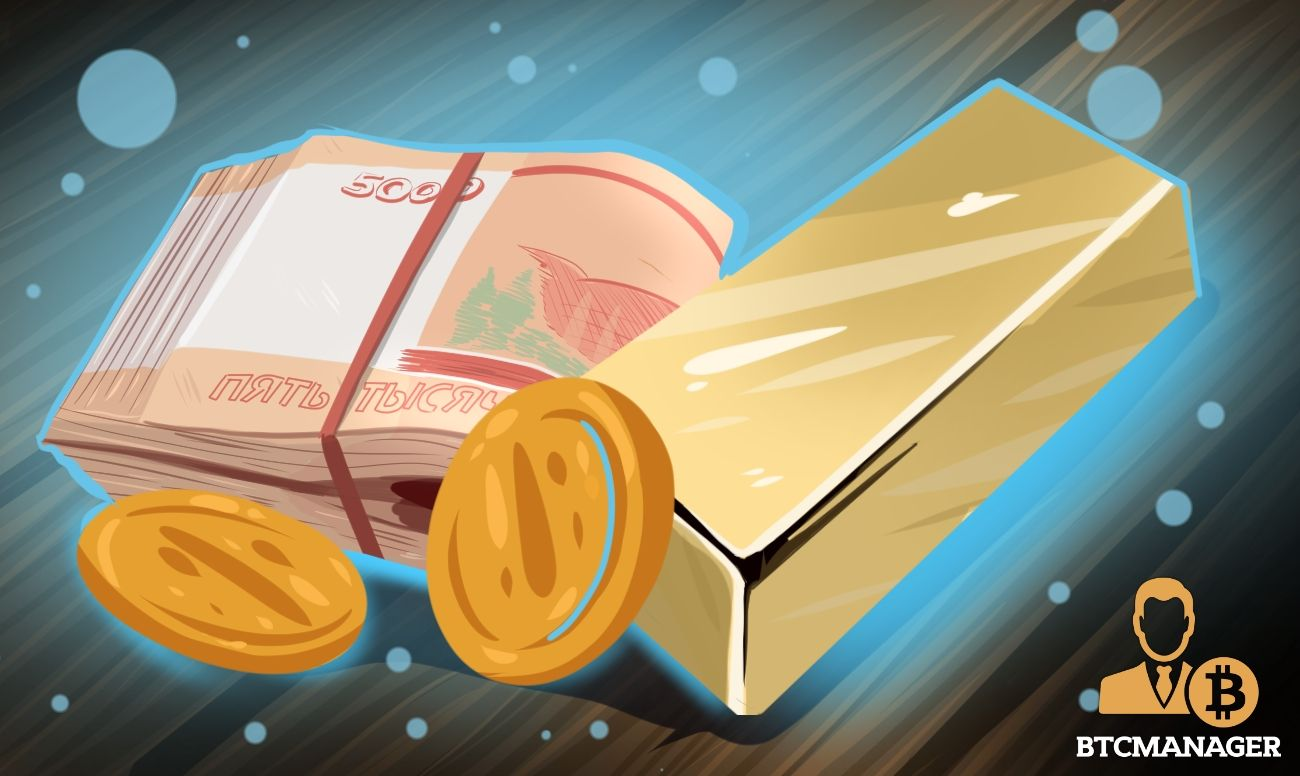 cryptocurrency pegged to gold