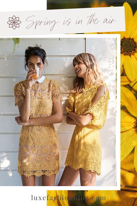 Spring & Summer Lovely Dresses | Street Fashion |