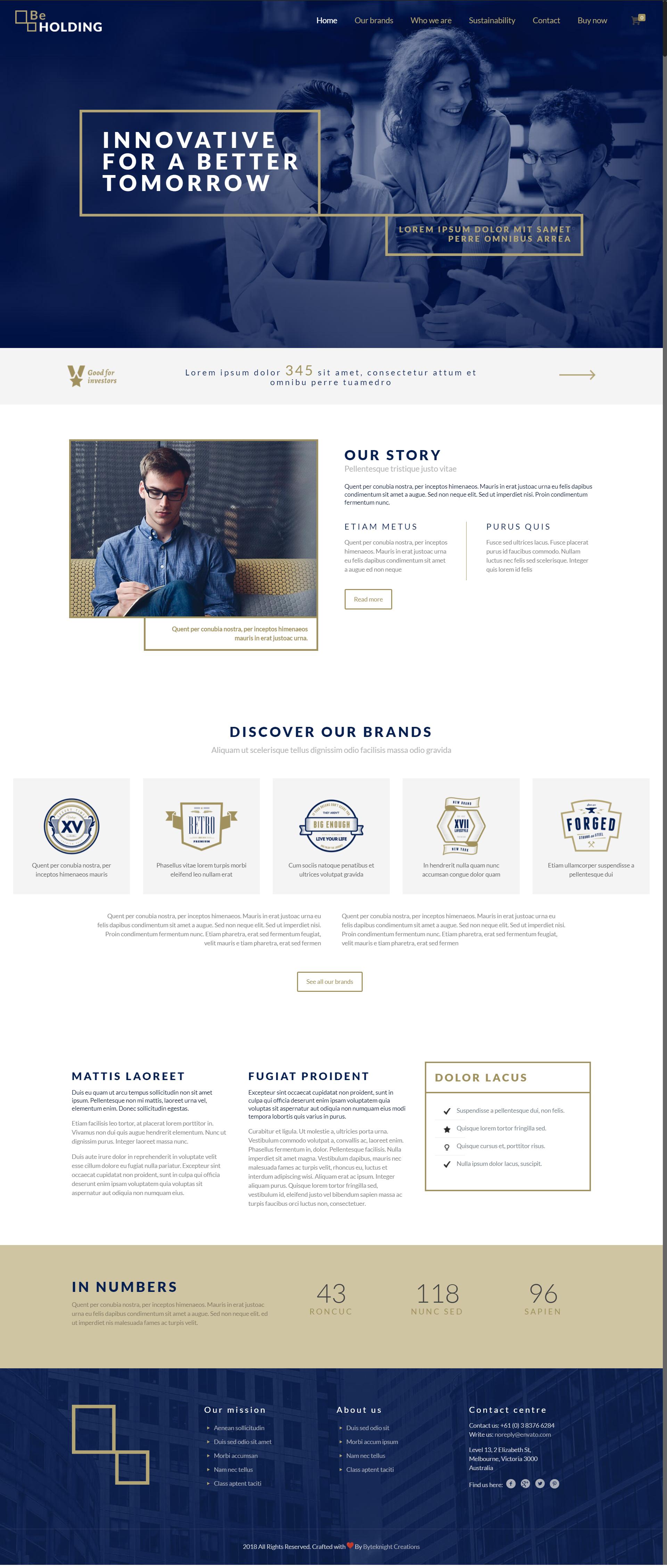 Best Web Designs Templates Themes Holding Company Website Design Demo Byteknightdesigns Bk Corporate Web Design Corporate Website Design News Web Design