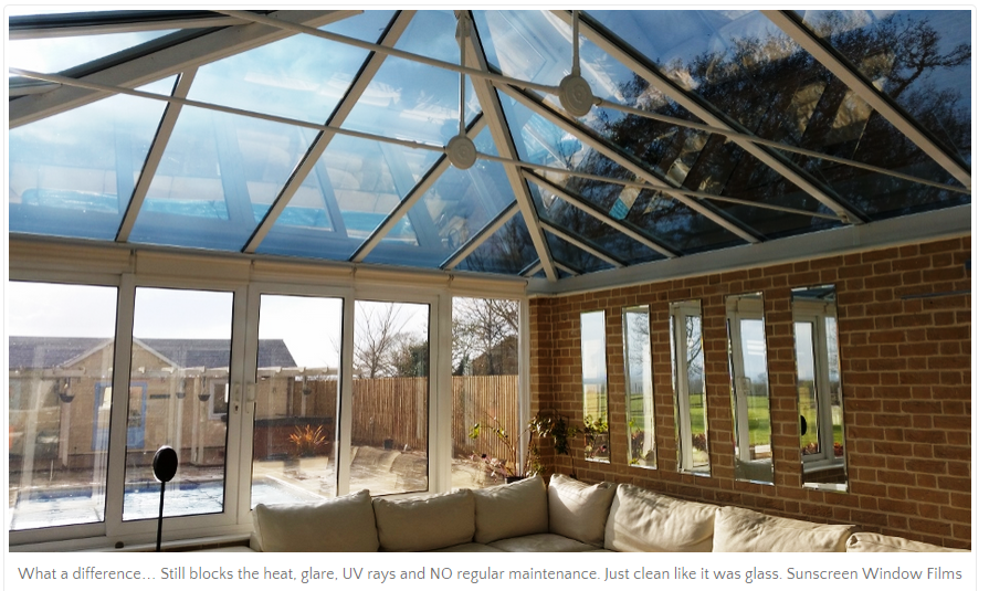 Sunscreen For Conservatory Savillefurniture Conservatory Roof Blinds Conservatory Conservatory Roof