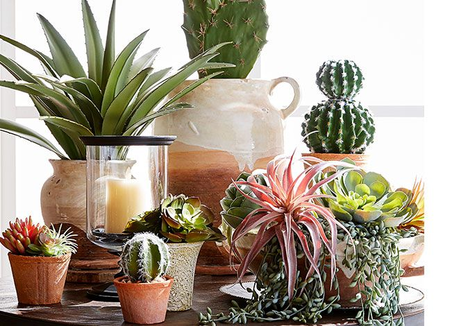 The Best Faux Succulents Decorative Planters Pots