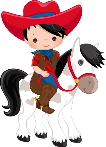 cowboy e cowgirl imprimibles de colores pinterest Cartoon Cowboy Cartoon Cowboy