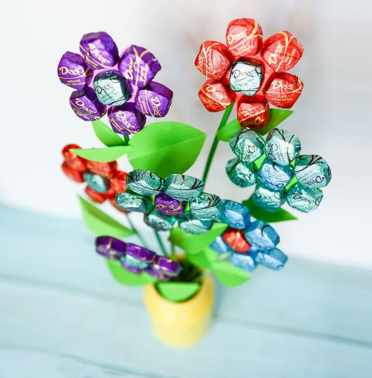 Букетов своих, букеты с конфетами своими руками фото простые