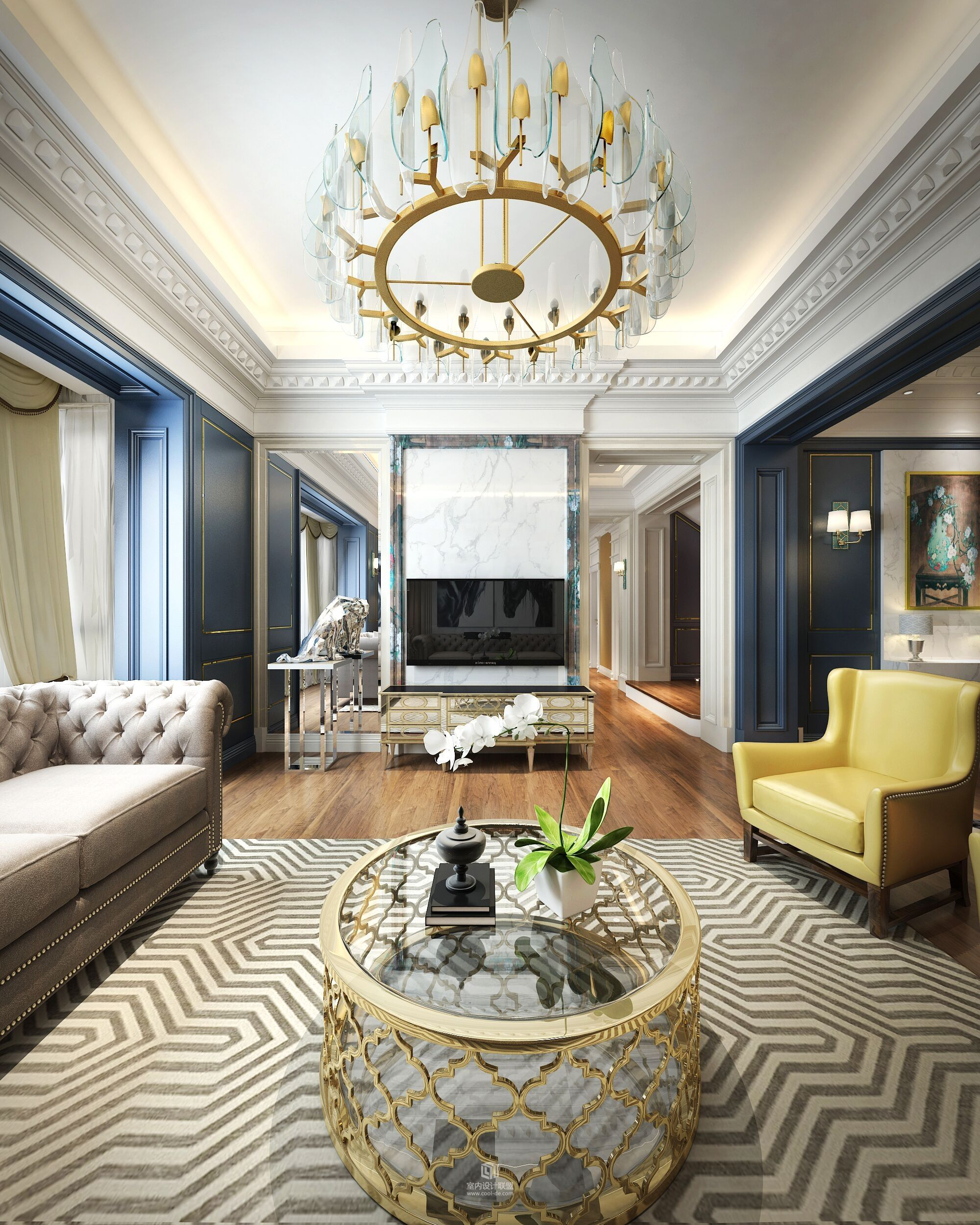 Art Deco Interiors House Interiors Modern Interiors
