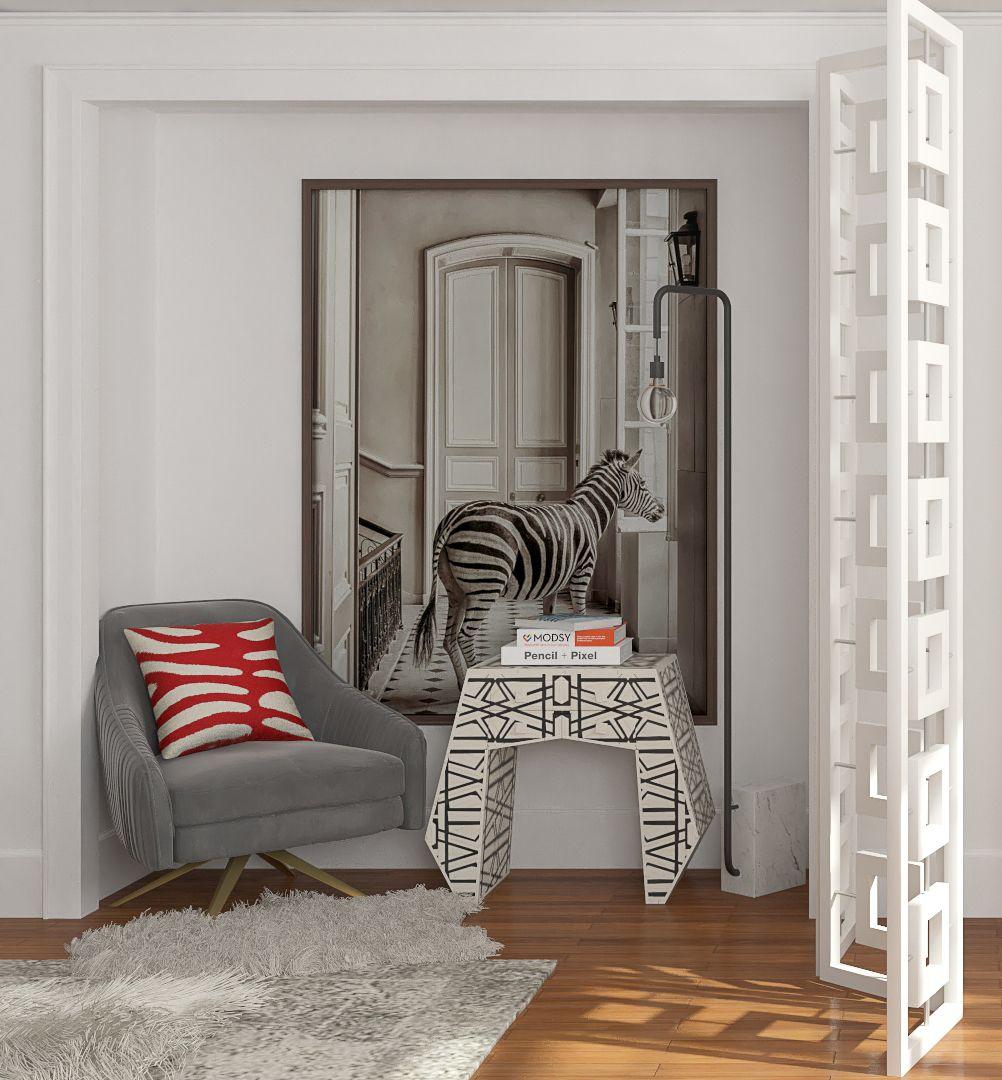 empty closet awkward nook turned chic reading nook design ideas rh pinterest com