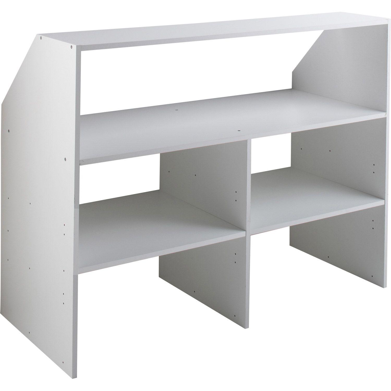 Planche Mélaminé Blanc Castorama matière:panneau de particules revêtu feuille de décor