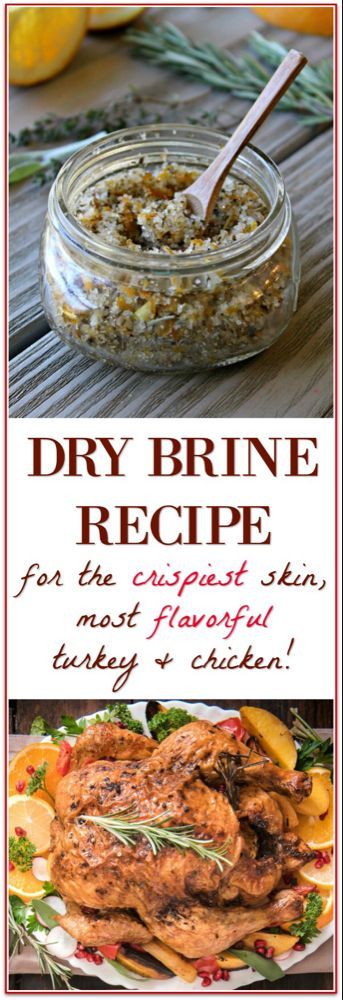 Dry Brine Turkey for the Best Thanksgiving Turkey