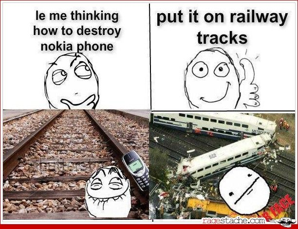 true story: my first phone was a nokia and i dropped it from the top of a roller coaster as it was going into an upside down part and the thing never even scratched. park officials returned it in pristine condition.