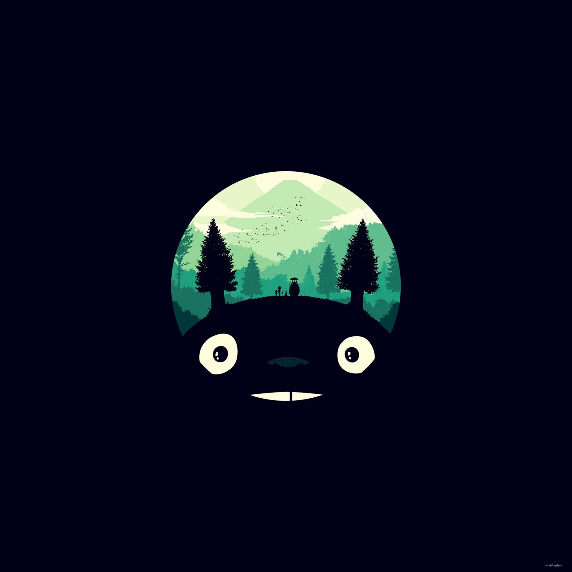 How To Have A Fantastic Cute Dark Wallpapers With Minimal Spending Cute Dark Wallpapers Cute Desktop Wallpaper Totoro Art Desktop Wallpaper Art Cute wallpapers kawaii for laptop