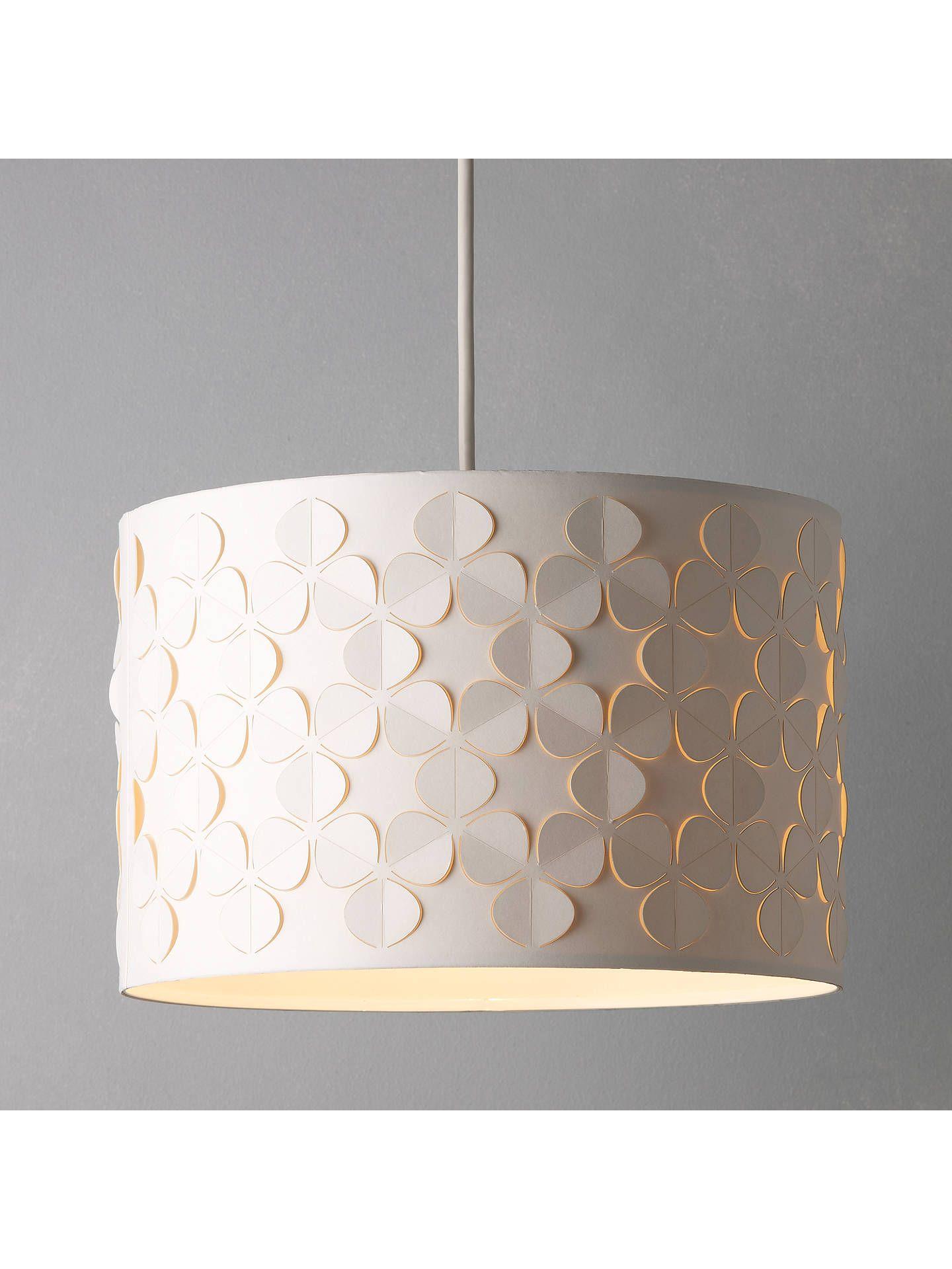 john lewis partners clara cutwork drum shade white in 2019 rh pinterest com