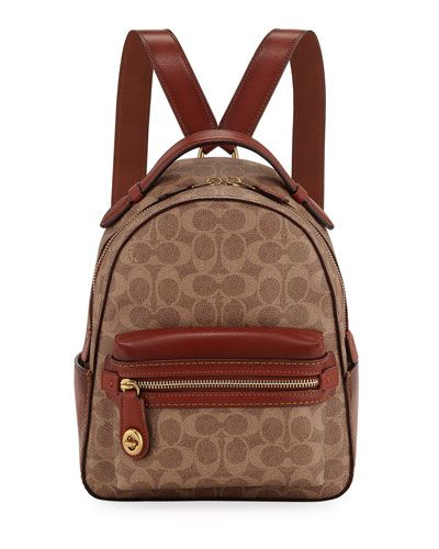 26e25de111b Coach 1941 Campus 23 Signature Coated Canvas Backpack