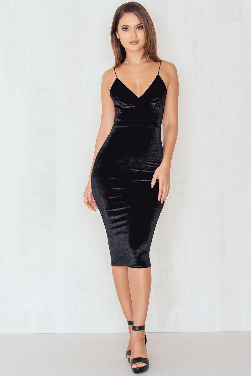 Lovestoned Velour Midi Dress Dresses Black Prom Dresses Maxi Dress [ 1280 x 854 Pixel ]