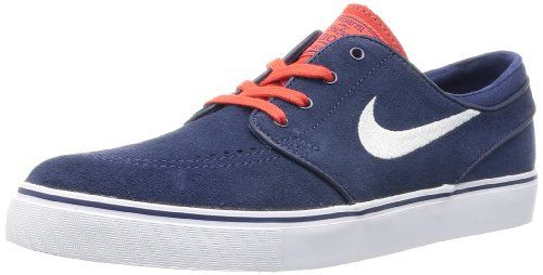 promo code 0c9ab e297c Nike Men s Zoom Stefan Janoski Midnight Navy White Lt Cri... https